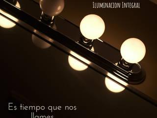 LAMPARA GOTA G45 BLANCO CALIDO E27 1W GUIRNALDAS LED:  de estilo  por OFFICE LUZ  ILUMINACION