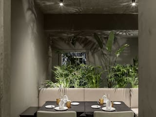 Espaços de restauração minimalistas por PAULO MARTINS ARQ&DESIGN Minimalista