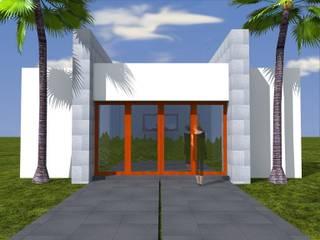 Anteproyecto - Bungalos La Mora de Rios Serna Arquitectos Minimalista