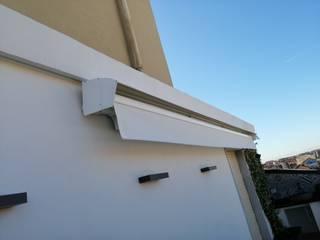 Tenda Da Sole a Bracci Motorizzata Modello Elite Plus Tende da Sole Torino Balcone, Veranda & TerrazzoAccessori & Decorazioni Tessuti Beige