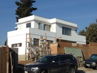 Proyecto Vivienda Macher Minimodo Casas unifamiliares Concreto Blanco