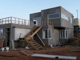 Diseño de Vivienda Unifamiliar Minimodo Casas unifamiliares Concreto Blanco