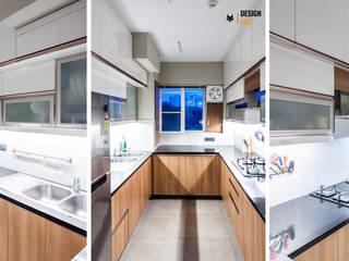 DLF New Town Heights Kakkanad Minimalist kitchen by Design Fox Minimalist