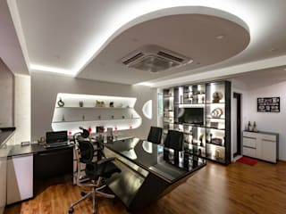 Dream Flower Office Modern offices & stores by Design Fox Modern