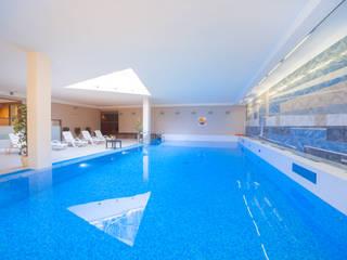 Mediterranean style pool by PL360 - fotografia wnętrz, wirtualne spacery, agencja marketingowa Mediterranean