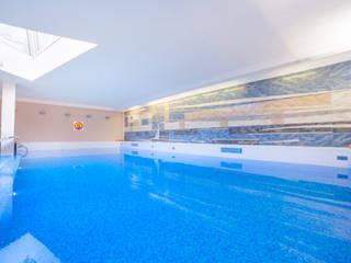 สระว่ายน้ำ โดย PL360 - fotografia wnętrz, wirtualne spacery, agencja marketingowa,
