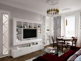 Wohnzimmer von DesArch Studio, Klassisch