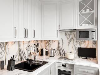Kleine Küche von DesArch Studio, Klassisch