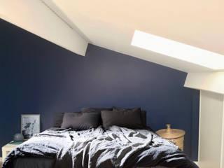 appartement duplex toulouse Chambre minimaliste par krma architecture d'intérieur et décoration Minimaliste