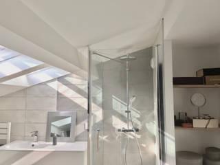 appartement duplex toulouse Salle de bain minimaliste par krma architecture d'intérieur et décoration Minimaliste