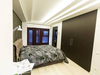 Minimalist bedroom by дизайн-группа 'Лестница' Minimalist