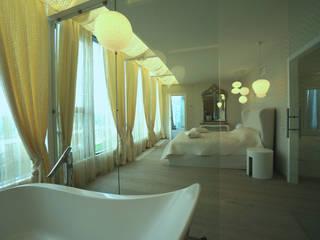 Modern bathroom by дизайн-группа 'Лестница' Modern