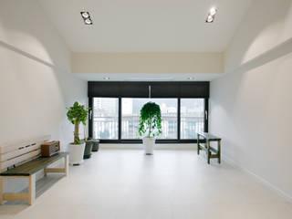 야탑 두원빌리지 33평 프로젝트 모던스타일 거실 by 콜라사이다디자인 모던