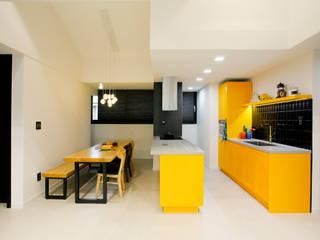 Projekty,  Kuchnia zaprojektowane przez 콜라사이다디자인,