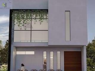 Casa B-40 de Helicoide Estudio de Arquitectura Moderno