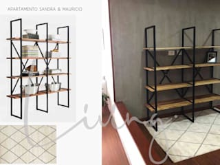 APARTAMENTO CHÍA:  de estilo industrial por BHURA DESIGN, Industrial