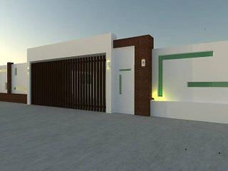 DISEÑO Y CONSTRUCCIÓN DE AMPLIACIÓN EN CASA HABITACIÓN de Avantgard-Arquitectura Minimalista
