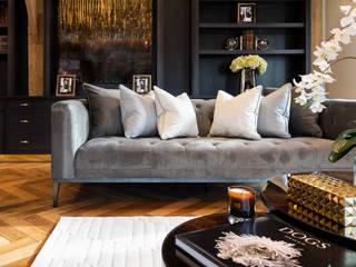 Photography for Interior Designers - Enchanted Barn - 2019 Salon moderne par Miriam Sheridan Photography Moderne