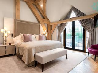 Photography for Interior Designers - Enchanted Barn - 2019 Chambre moderne par Miriam Sheridan Photography Moderne