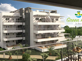 Infografias 3D y Renders 3D Madrid Rumah Modern