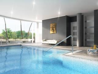Infografias 3D y Renders 3D Madrid Casas modernas