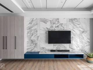 Modern living room by 禾廊室內設計 Modern