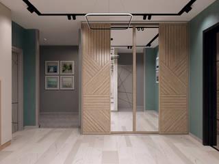 Classic corridor, hallway & stairs by Творческая мастерская Твердый Знак Classic