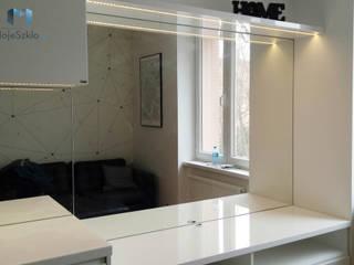 Panel lustrzany do kuchni od Moje Szkło Nowoczesny Szkło