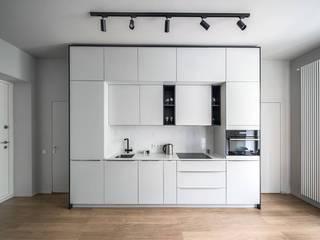 2+1 Кухня в скандинавском стиле от U concept Скандинавский