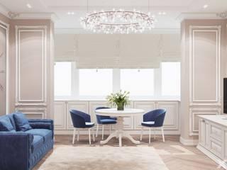 Дизайн интерьера в стиле Неоклассика XO Design Гостиная в классическом стиле Бежевый