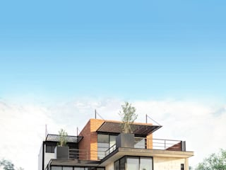 LOFT PILLADO Arquitectos Ejecutivos Casas unifamiliares Hierro/Acero Metálico/Plateado