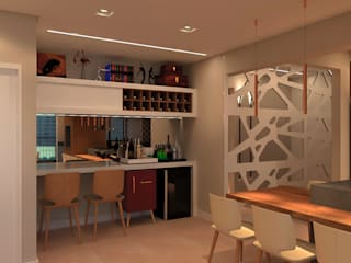 Modern wine cellar by SCK Arquitetos Modern