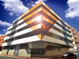 Maisons de style  par VAQUERO&WORKGROUPS
