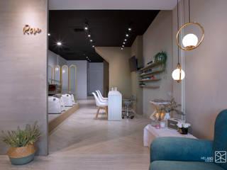 接待區與服務區: 斯堪的納維亞  by 禾廊室內設計, 北歐風