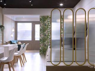 鐵件屏風: 斯堪的納維亞  by 禾廊室內設計, 北歐風