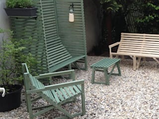 Studio Perspective Garden Furniture Wood Wood effect