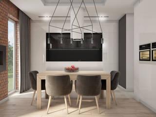 Modern Dining Room by Nevi Studio Modern