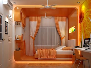 Residence Of Mr Nihar Satpathy at Cosmopolish :   by Zaxis,