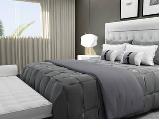 Remodelação de Suite Quartos ecléticos por Nkantus Interior Design Eclético