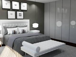 Remodelação de Suite por Nkantus Interior Design Eclético