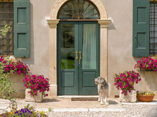 Front doors by Ercole Srl, Rustic