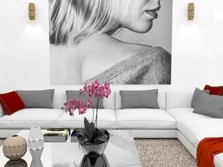 Decoração de Sala por Nkantus Interior Design Moderno