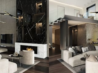 Living room by DelightFULL, Industrial