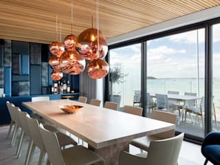 Dining room by WN Interiors.