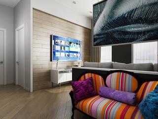 Квартира Гостиная в стиле минимализм от IceDesign Минимализм