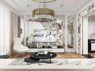 ARTDESIGN architektura wnętrz Salones de estilo clásico