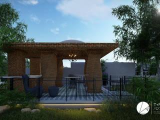Nhà đồng quê theo T+F Arquitectos, Mộc mạc