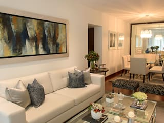Livings de estilo moderno de ALUA - Arquitectura de Interiores Moderno