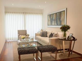 ALUA - Arquitectura de Interiores Salon moderne