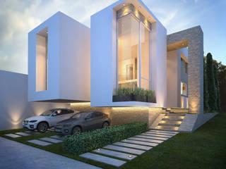 Casa LGO: Casas multifamiliares de estilo  por GOMEZ HIDALGO ARQUITECTOS